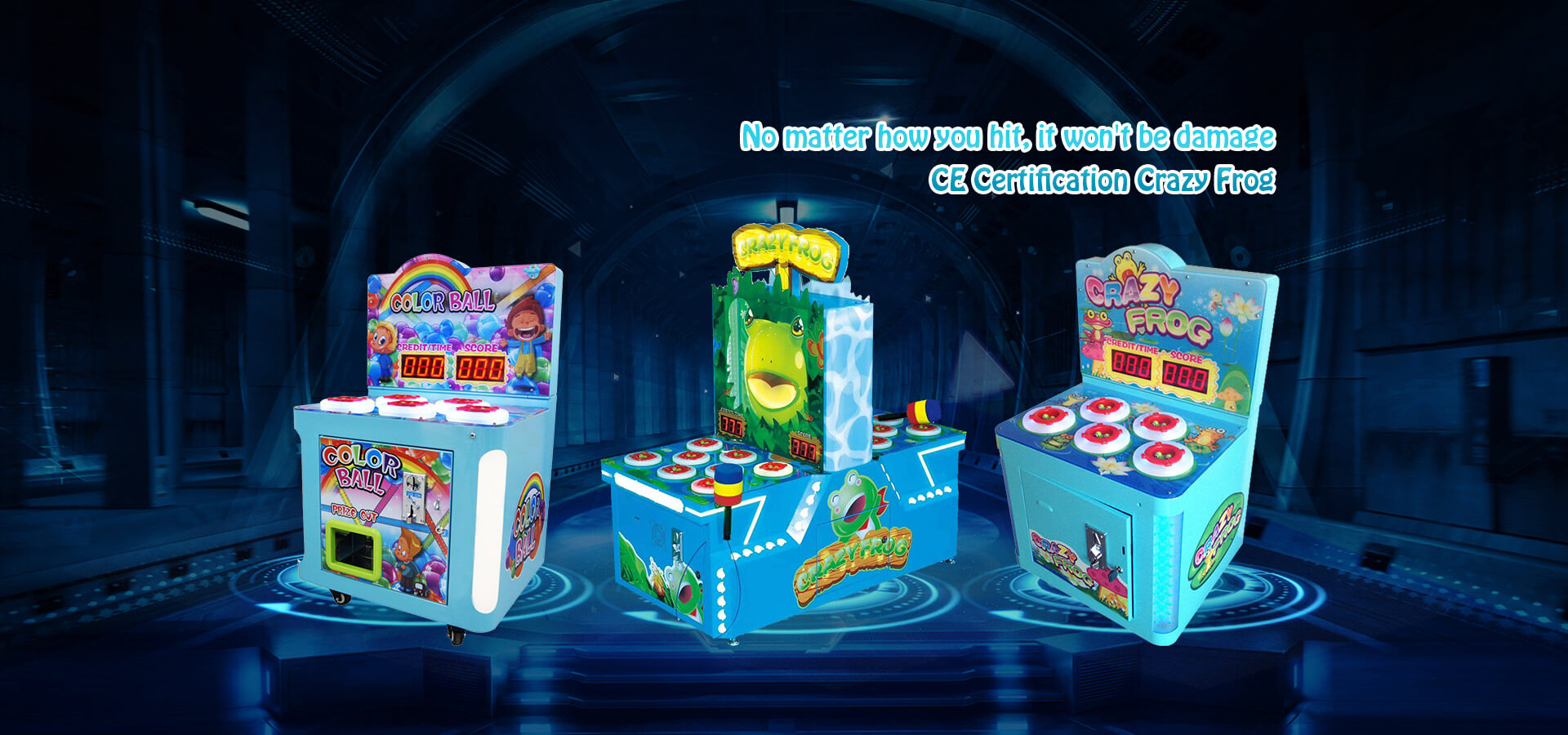hit crazy frog hammer game machine