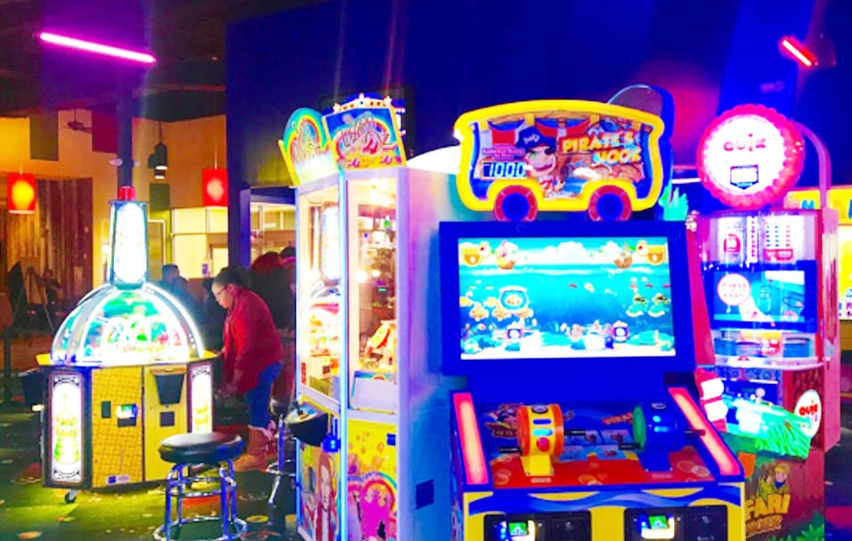 Stars and Strikes Family Entertainment center in Huntsville,United States, JAN,2018