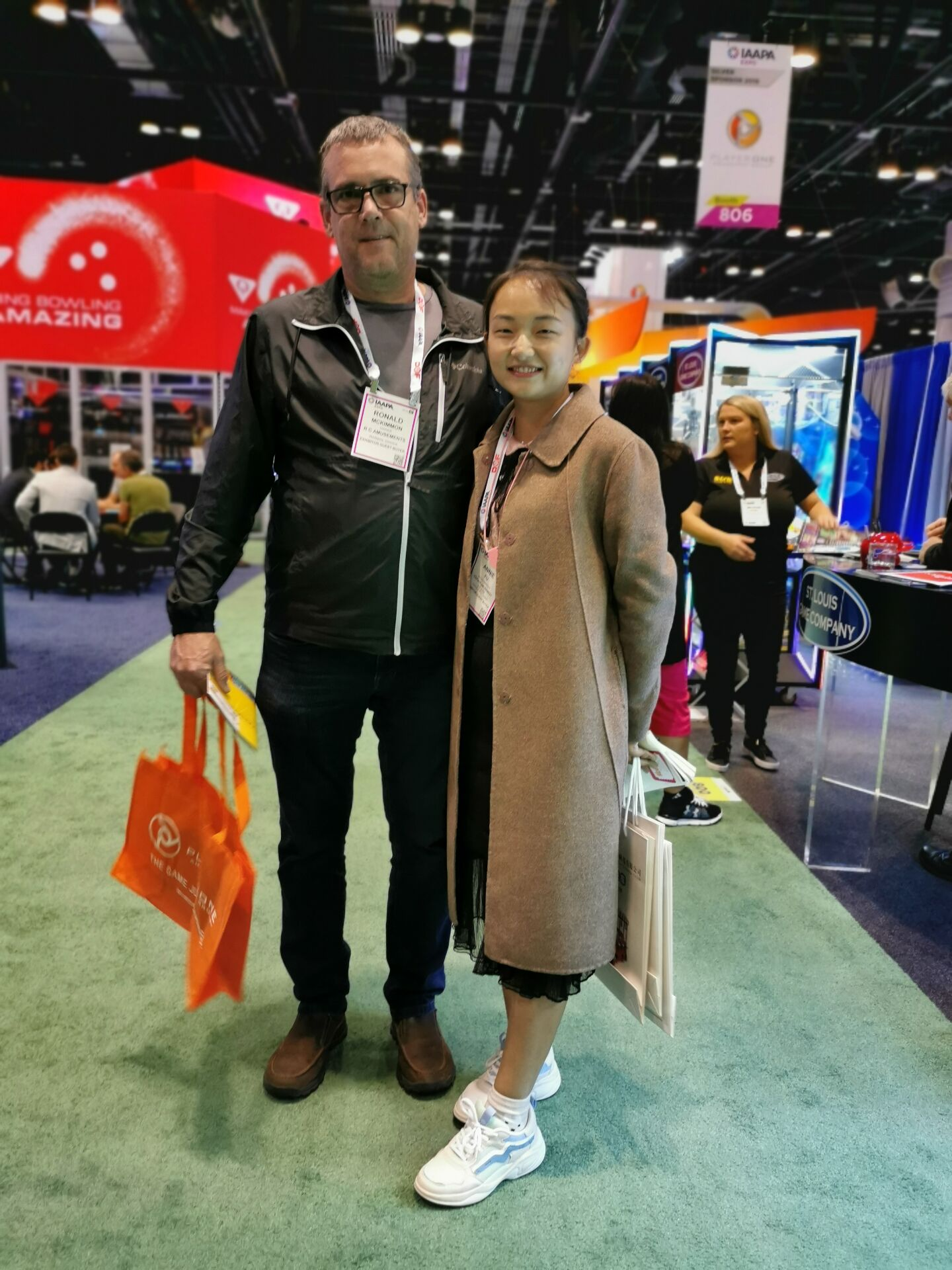 We participated in the IAAPA EXPO