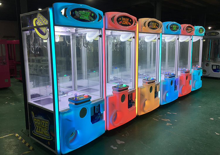 What kind of claw crane arcade games machine is best choice for pizza restaurant vending