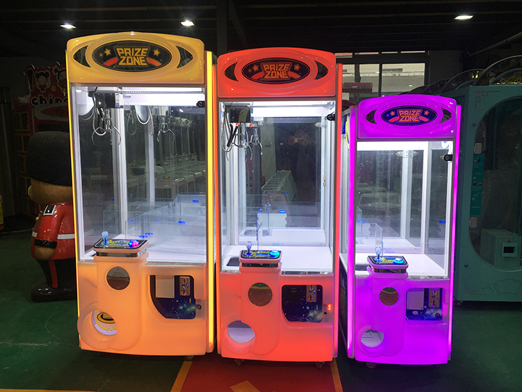 The difference between 25 inch crane,31 inch crane and 36 inch crane claw vending machine from icefuns amusement factory