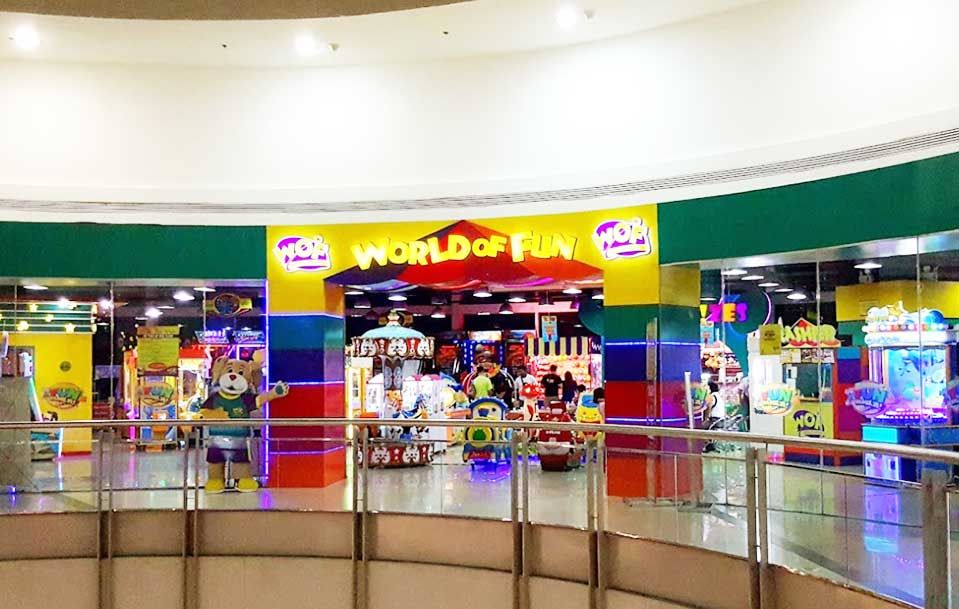 WORLD OF FUN in manila, philippines, August, 2015