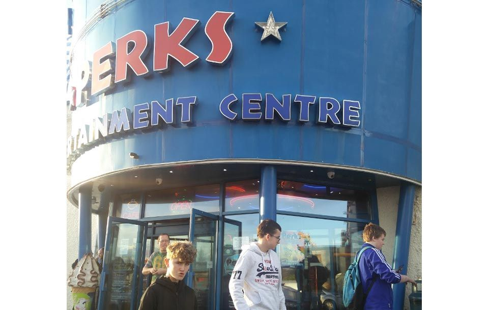 Perks Entertainment Centre in Ireland, July, 2017