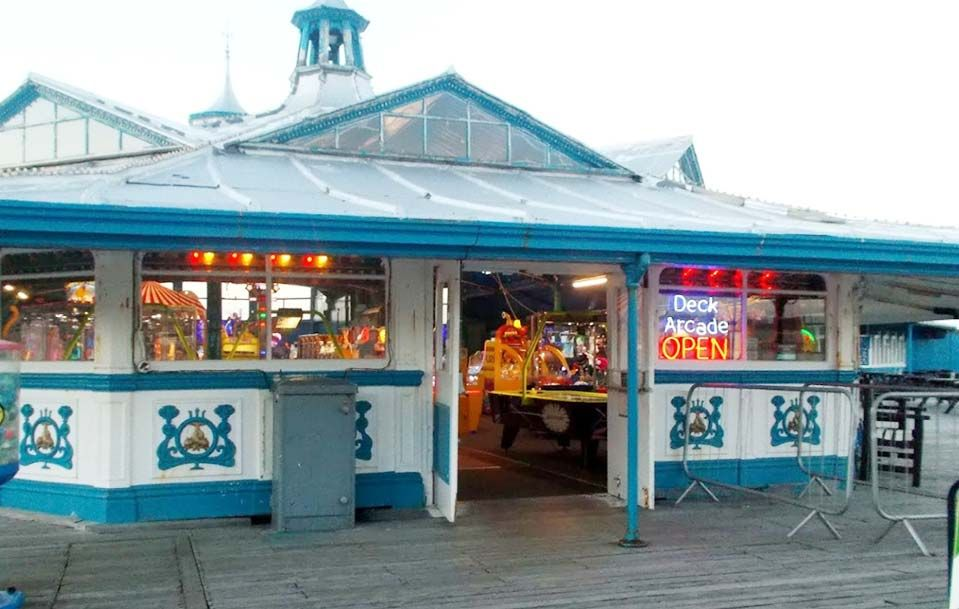 Deck Amusement Arcade in UK