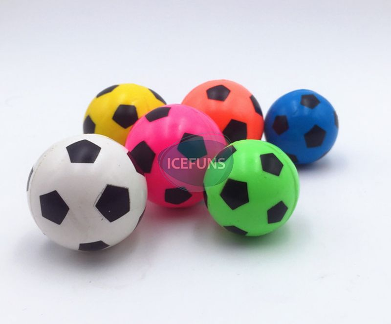 Printed Football bouncy ball