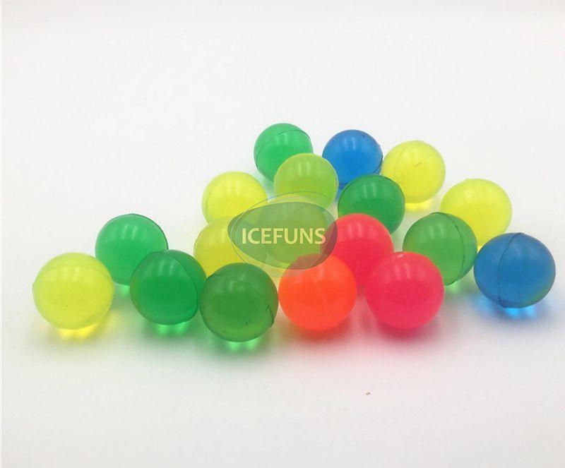 single color clear bouncy ball