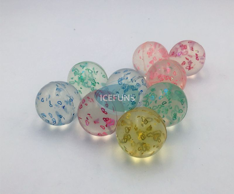 B0032 clear bouncy ball