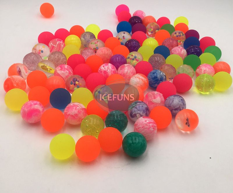 Mixed Bouncing balls