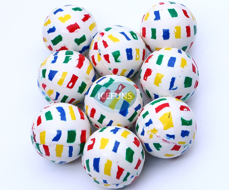 white bouncy ball
