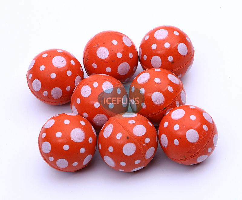 Red bouncy ball