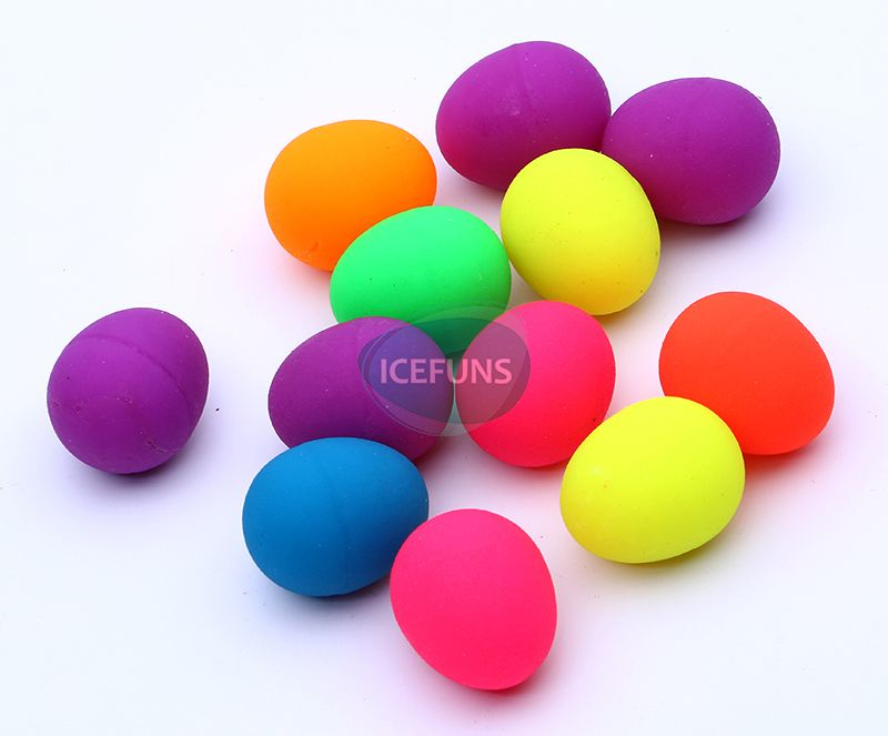 Colorful Egg bouncy ball
