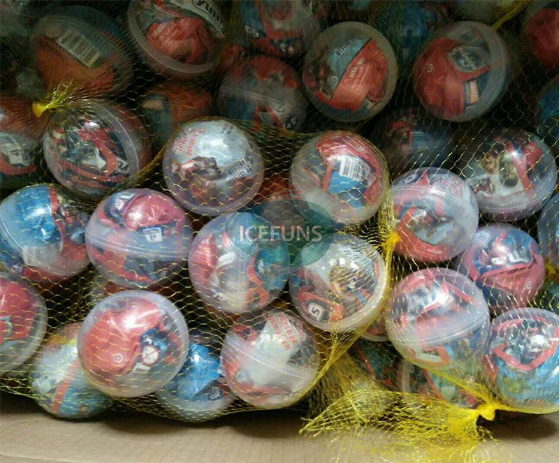 75mm gumball toys