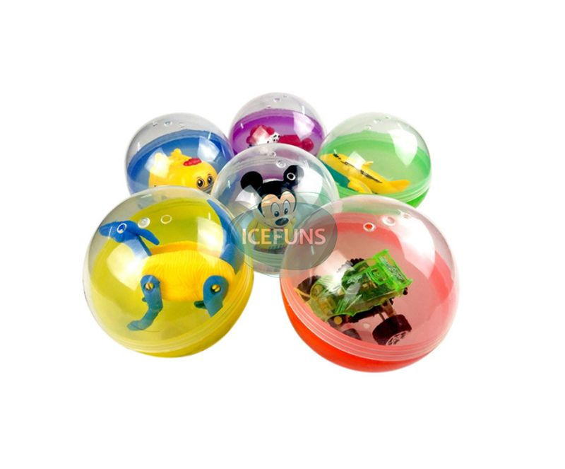 100mm gumball machine toy capsules
