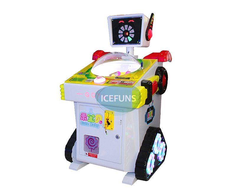 Robot lollipop vending machine