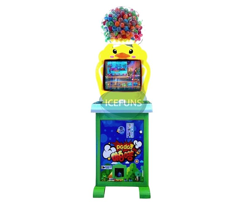 Duck capsule toy vending machine