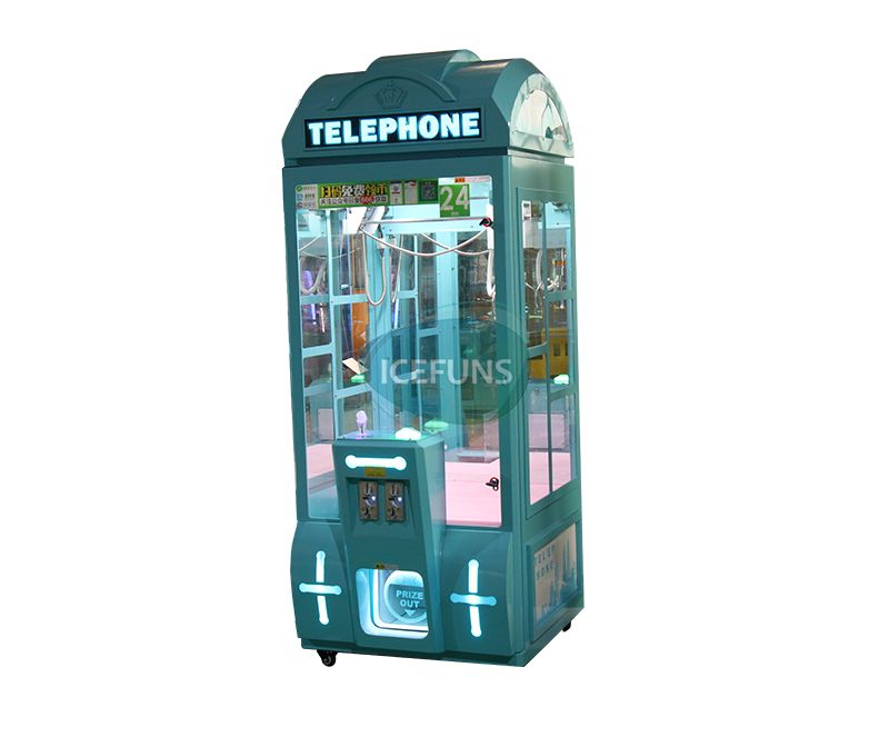 Telephone claw machine