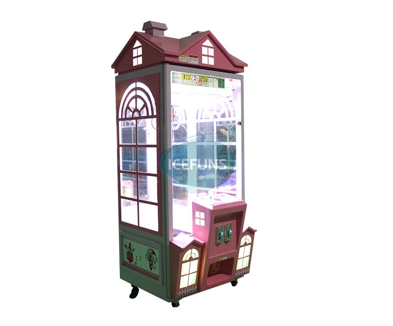 Pink House grabber machine