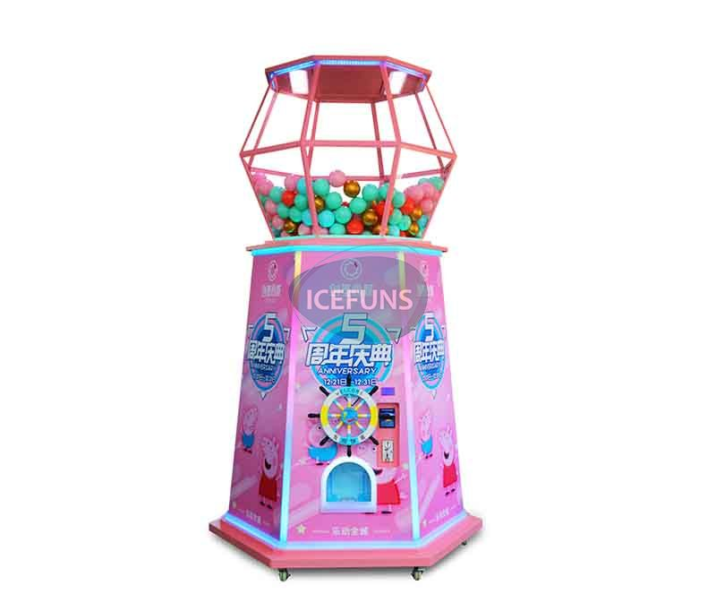 Gaint toy capsule vending machine