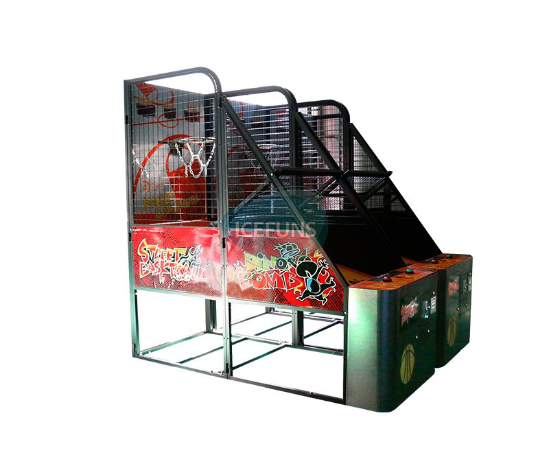 street basketball arcade games