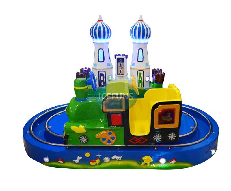 Castle Train Kiddie Rides