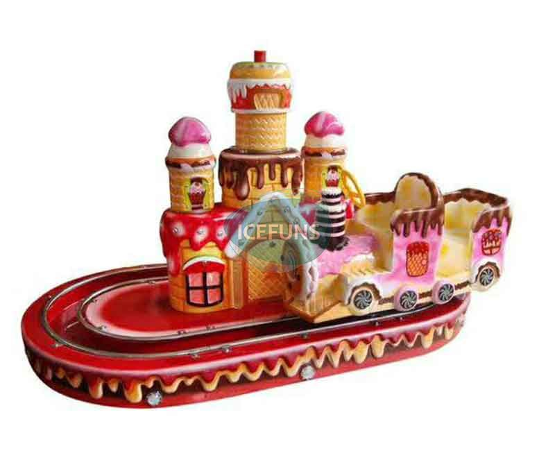 Mini Cake Train Kiddie Rides