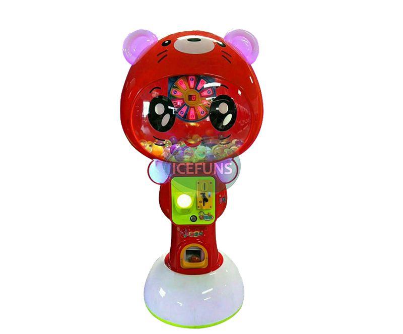 Tiger capsule toys vending machine