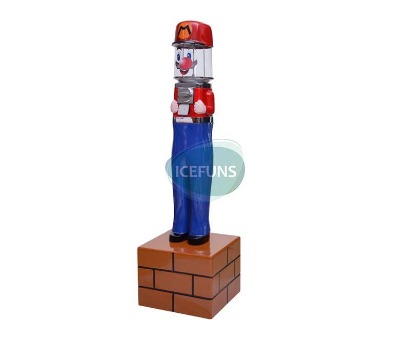 Mario gashapon capsule toys vending machine