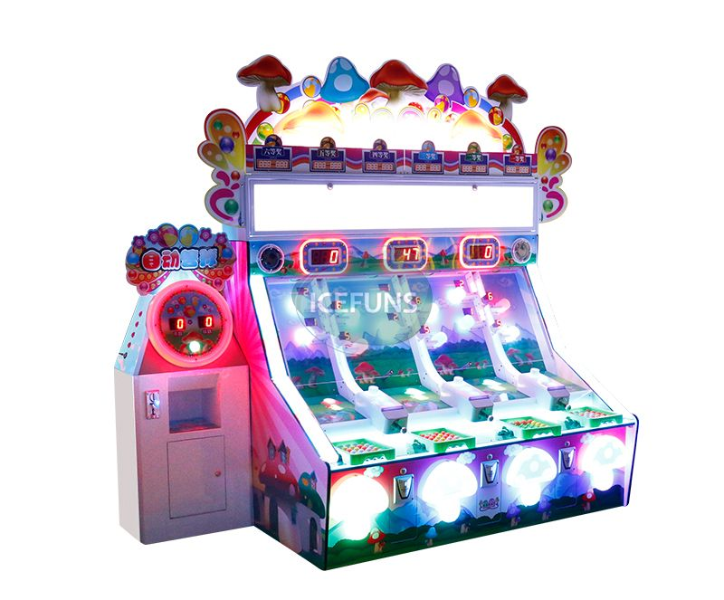 mushroom pinball game machine