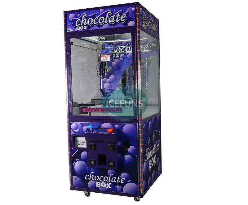 Chocolate claw crane machine