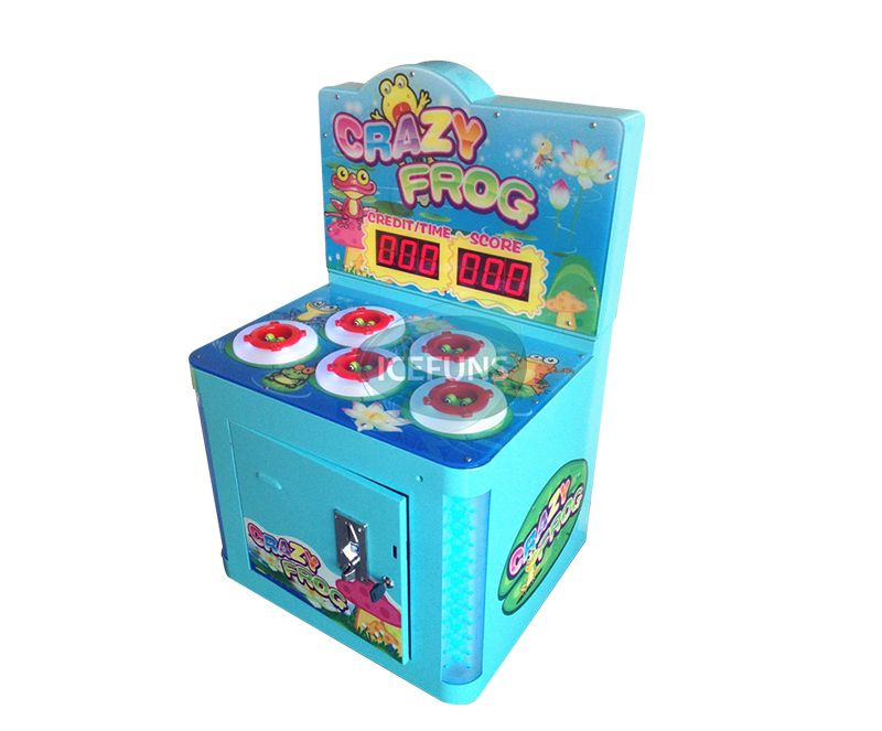 hammer hit mouse frog game machine