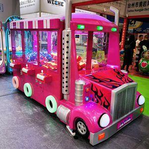 Truck Claw Crane Machine is Money Maker in Brazil