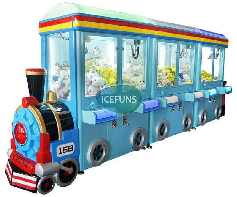 6 player mini train prize vending machine