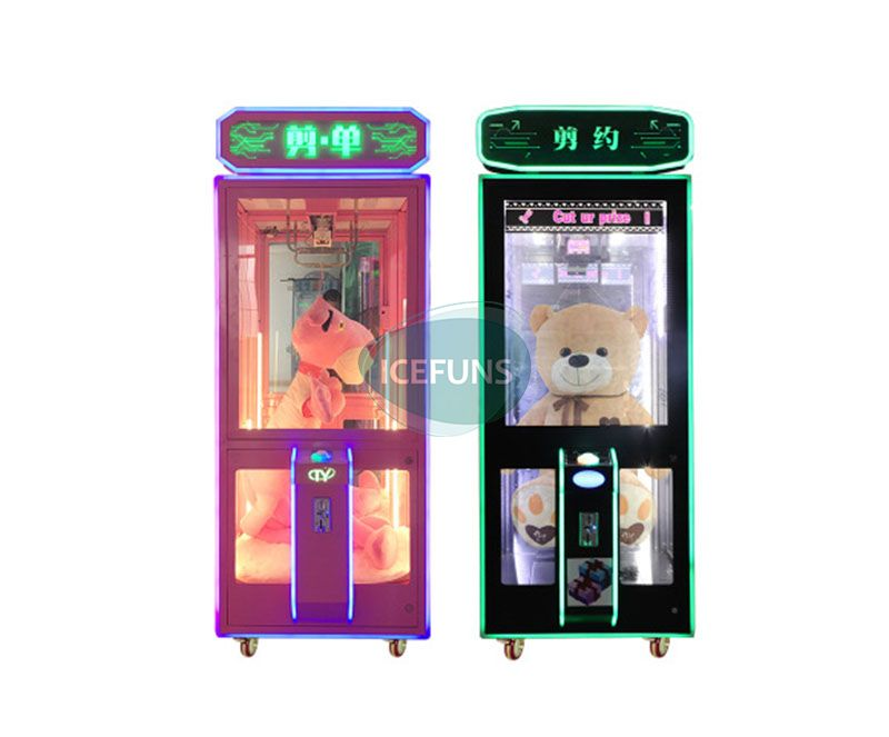 Scissors Cut Prize Vending Machine