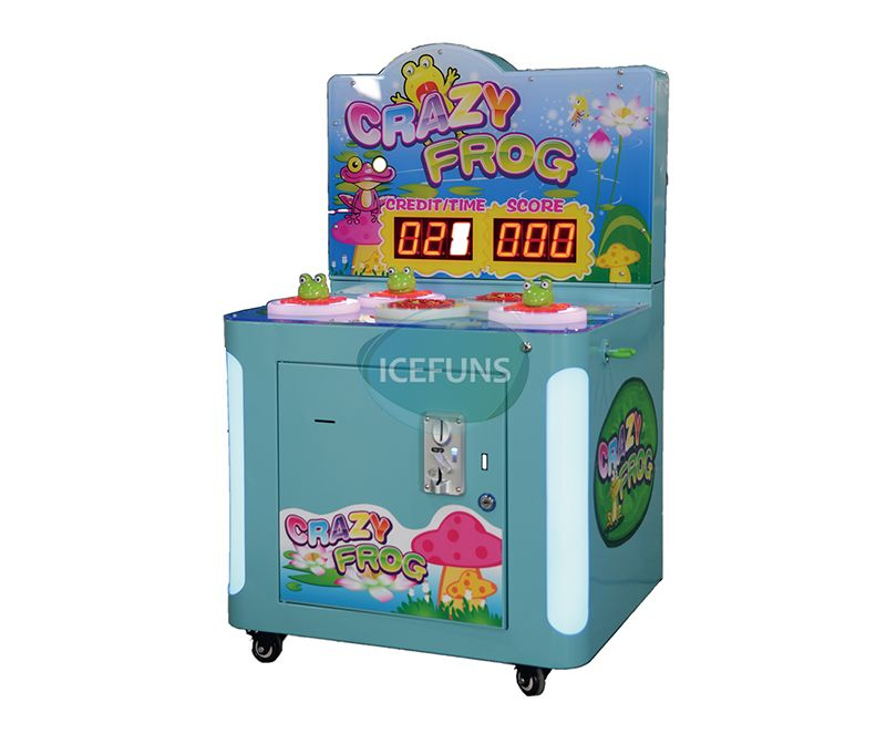 Crazy Frog Ticket Redemption Game Machine