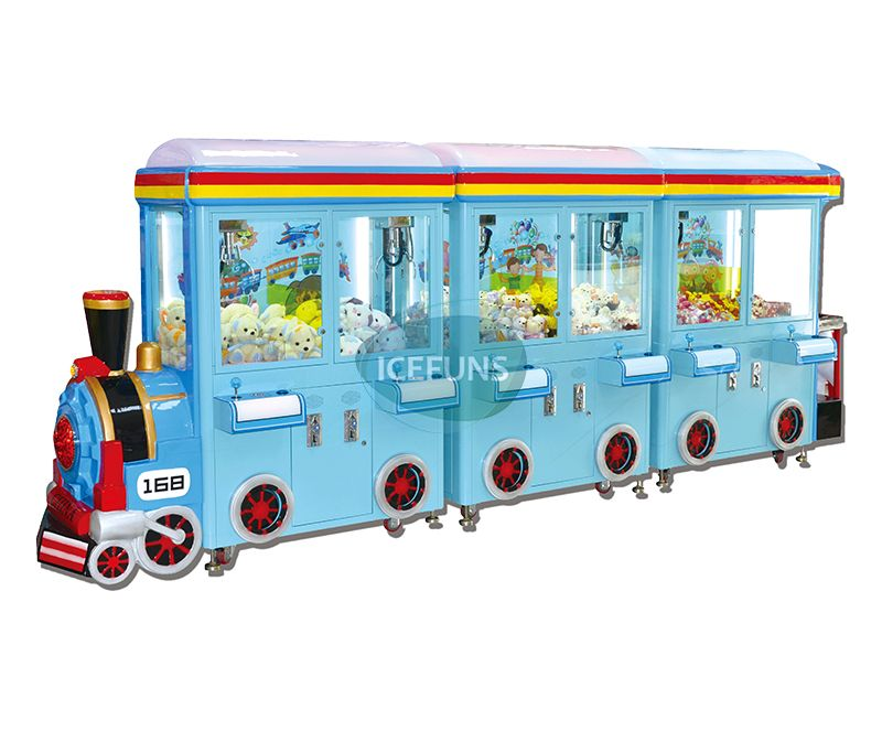 Prize Junction Happy Travel Train Claw Crane Machine