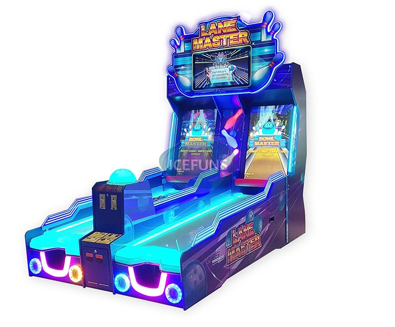Lane Master arcade redemption machine