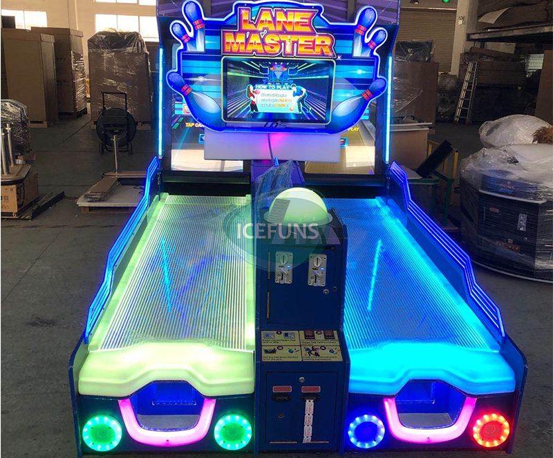 Lane Master arcade redemption machine