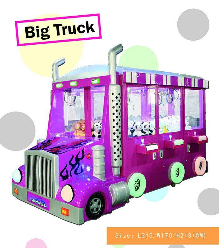 Big Truck Claw Crane Vending Machine