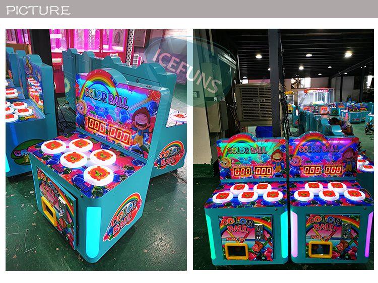 color ball arcade game